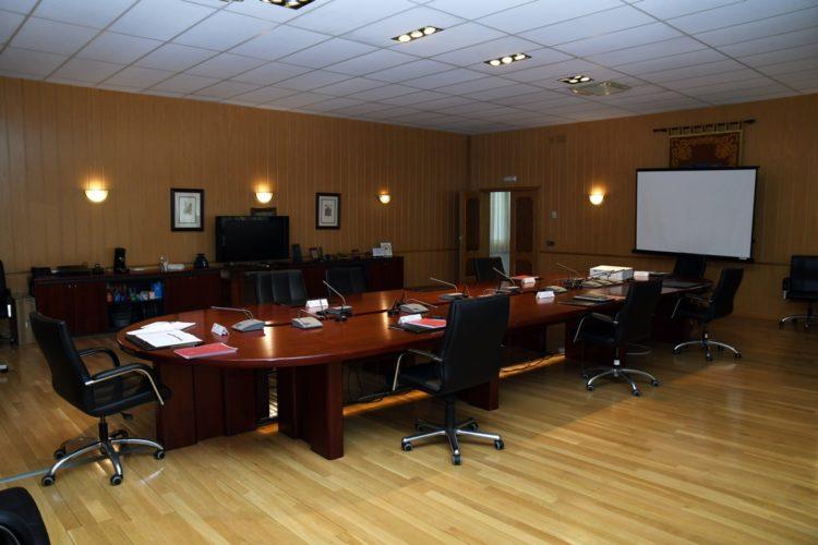 Sala del Consejo de Gobierno